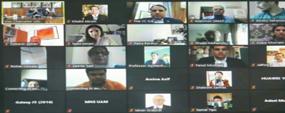 International webinar on re-opening of educational institutions