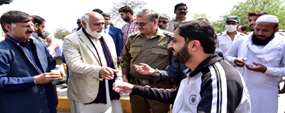 PU to save people from hoarders, profiteers - VC