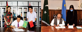 PU ،Chinese varsity sign MoU