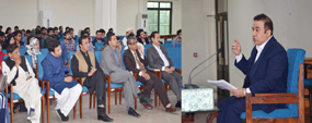 PU Library organizes introductory talk