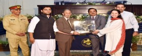 PU students win team trophy in bilingual declamation competition