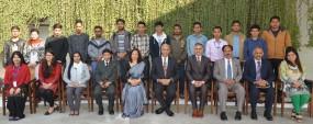 Nepalese ambassador calls on PU VC