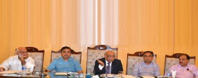 PU VC chairs security meeting