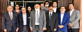 APNS delegation calls on PU VC
