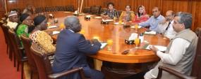 Nigerian delegation visits PU