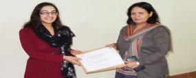 PU CCP organizes workshops