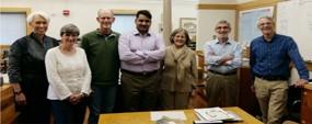PU faculty member visits Harvard University, museum