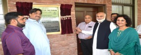 PU VC inaugurates research lab to convert waste to energy
