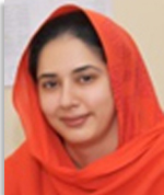 Ms. Ayesha Siddiqa Bugvi